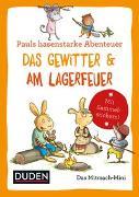 Cover-Bild zu Duden Minis (Band 1) - Pauls hasenstarke Abenteuer / VE 3 von Weber, Annette