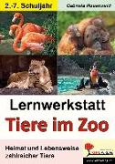 Cover-Bild zu Lernwerkstatt Tiere im Zoo von Rosenwald, Gabriela
