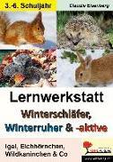 Cover-Bild zu Winterschläfer, Winterruher & -aktive Igel, Eichhörnchen, Wildkaninchen & Co von Eisenberg, Claudia