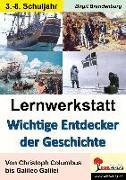 Cover-Bild zu Lernwerkstatt Wichtige Entdecker der Geschichte