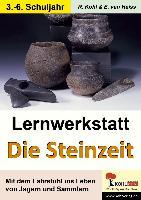 Cover-Bild zu Lernwerkstatt - Mit dem Fahrstuhl in die Steinzeit