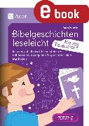 Cover-Bild zu Bibelgeschichten leseleicht - Neues Testament (eBook) von Scheller, Anne