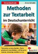Cover-Bild zu Methoden zur Textarbeit im Deutschunterricht (eBook) von Scheller, Anne