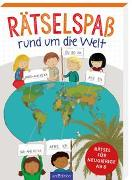 Cover-Bild zu Löwenberg, Ute: Rätselspaß rund um die Welt