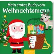 Cover-Bild zu Choux, Nathalie (Illustr.): Mein erstes Buch vom Weihnachtsmann