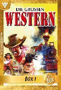 Cover-Bild zu Die großen Western Jubiläumsbox 1 (eBook) von Autoren, Diverse