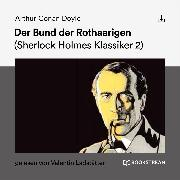 Cover-Bild zu Der Bund der Rothaarigen (Audio Download)