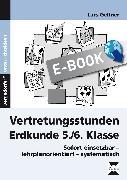 Cover-Bild zu Vertretungsstunden Erdkunde 5./6. Klasse (eBook) von Gellner, Lars