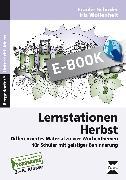 Cover-Bild zu Lernstationen Herbst (eBook) von Schüder, Frauke