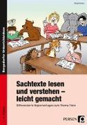 Cover-Bild zu Sachtexte lesen und verstehen - leicht gemacht von Holzer, Birgit
