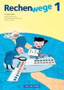 Cover-Bild zu Rechenwege 1. NA. Schülerbuch mit Kartonbeilagen. Nord von Fuchs, Mandy