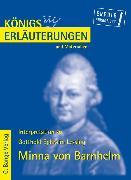Cover-Bild zu Lessing, Gotthold E: Minna von Barnhelm von Gotthold Ephraim Lessing. Textanalyse und Interpretation (eBook)