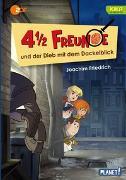 Cover-Bild zu 4 1/2 Freunde: 4 1/2 Freunde und der Dieb mit dem Dackelblick von Friedrich, Joachim