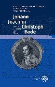 Cover-Bild zu Johann Joachim Christoph Bode (eBook) von Berghahn, Cord-Friedrich (Hrsg.)