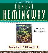 Cover-Bild zu Green Hills of Africa von Hemingway, Ernest