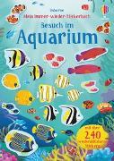 Cover-Bild zu Watson, Hannah: Mein Immer-wieder-Stickerbuch: Besuch im Aquarium