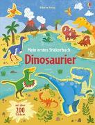 Cover-Bild zu Watson, Hannah: Mein erstes Stickerbuch: Dinosaurier