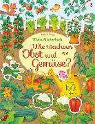 Cover-Bild zu Watson, Hannah: Mein Stickerbuch: Wie wachsen Obst und Gemüse?