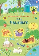 Cover-Bild zu Watson, Hannah: Mein Immer-wieder-Stickerbuch: Meine Haustiere