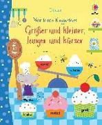 Cover-Bild zu Watson, Hannah: Mein buntes Klappenbuch: Größer und kleiner, länger und kürzer