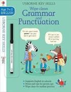 Cover-Bild zu Watson, Hannah: Wipe-Clean Grammar & Punctuation 7-8