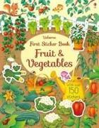 Cover-Bild zu Watson, Hannah (EDITOR): First Sticker Book Fruit and Vegetables