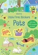 Cover-Bild zu Watson, Hannah: Little First Stickers Pets