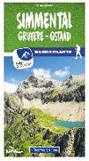 Cover-Bild zu Simmental / Gruyère - Gstaad 29 Wanderkarte 1:40 000 matt laminiert. 1:40'000