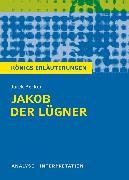Cover-Bild zu Jakob der Lügner von Jurek Becker (eBook) von Becker, Jurek