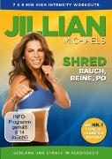 Cover-Bild zu Jillian Michaels (Schausp.): Jillian Michaels - Shred - Bauch,Beine,Po