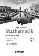 Cover-Bild zu Mathematik Q1.1. Grundkurs. Neubearbeitung 2016. Qualifikationsphase. Lösungen. HE von Bigalke, Anton
