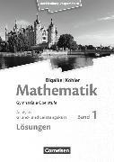 Cover-Bild zu Bigalke/Köhler: Mathematik 1. Ausgabe 2019. Grund- und Leistungskurs - Analysis. Lösungen zum Schülerbuch. MV von Bigalke, Anton
