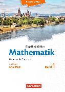 Cover-Bild zu Mathematik 1. Gynmasiale Oberstufe. Grundfach Analysis. Schülerbuch. RP von Bigalke, Anton