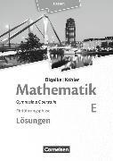 Cover-Bild zu Mathematik Sekundarstufe 2 E. Neubearbeitung 2016. Einführungsphase . Lösungen zum Schülerbuch. HE von Bigalke, Anton