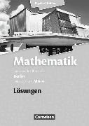 Cover-Bild zu Mathematik. Leistungskurs MA-4. Lösungen von Bigalke, Anton