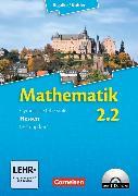 Cover-Bild zu Mathematik 2.2 Leistungskurs. Schülerbuch. HE von Bigalke, Anton