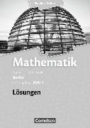 Cover-Bild zu Mathematik. Leistungskurs MA-1. Lösungen zum Schülerbuch. BE von Bigalke, Anton