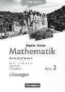 Cover-Bild zu Mathematik Sekundarstufe 2. Grundfach. Analysis. Lösungen. RP von Bigalke, Anton
