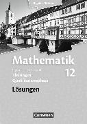 Cover-Bild zu Mathematik 12. Schuljahr. Lösungen. TH von Bigalke, Anton