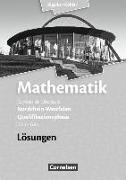 Cover-Bild zu Mathematik Gymnasiale Oberstufe. Ausgabe 2014. Qualifikationsphase für den Grundkurs. Lösungen. NW von Bigalke, Anton