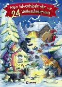 Cover-Bild zu Mein Adventskalender mit 24 Weihnachtskrimis