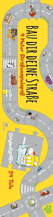 Cover-Bild zu Bau dir deine Straße - 4 Meter Straßenspielspaß von Hattenhauer, Ina (Illustr.)