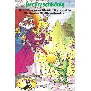 Cover-Bild zu eBook Gebrüder Grimm, Der Froschkönig und weitere Märchen