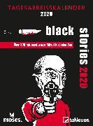 Cover-Bild zu moses black stories 2020 Tagesabreißkalender