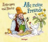 Cover-Bild zu Nordqvist, Sven (Gestaltet): Pettersson und Findus Alle meine Freunde