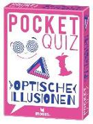Cover-Bild zu Pocket Quiz Optische Illusionen