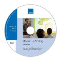 Cover-Bild zu Medizin im Vortrag - Geriatrie von Siehr, Kerstin