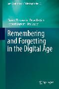Cover-Bild zu Remembering and Forgetting in the Digital Age (eBook) von Gasser, Urs