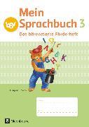 Cover-Bild zu Mein Sprachbuch, Ausgabe Bayern, 3. Jahrgangsstufe, Das bärenstarke Förderheft, Arbeitsheft von Hahn, Gabi
