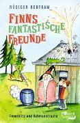 Cover-Bild zu Finns fantastische Freunde. Feuerblitz und Schmusedrache von Bertram, Rüdiger